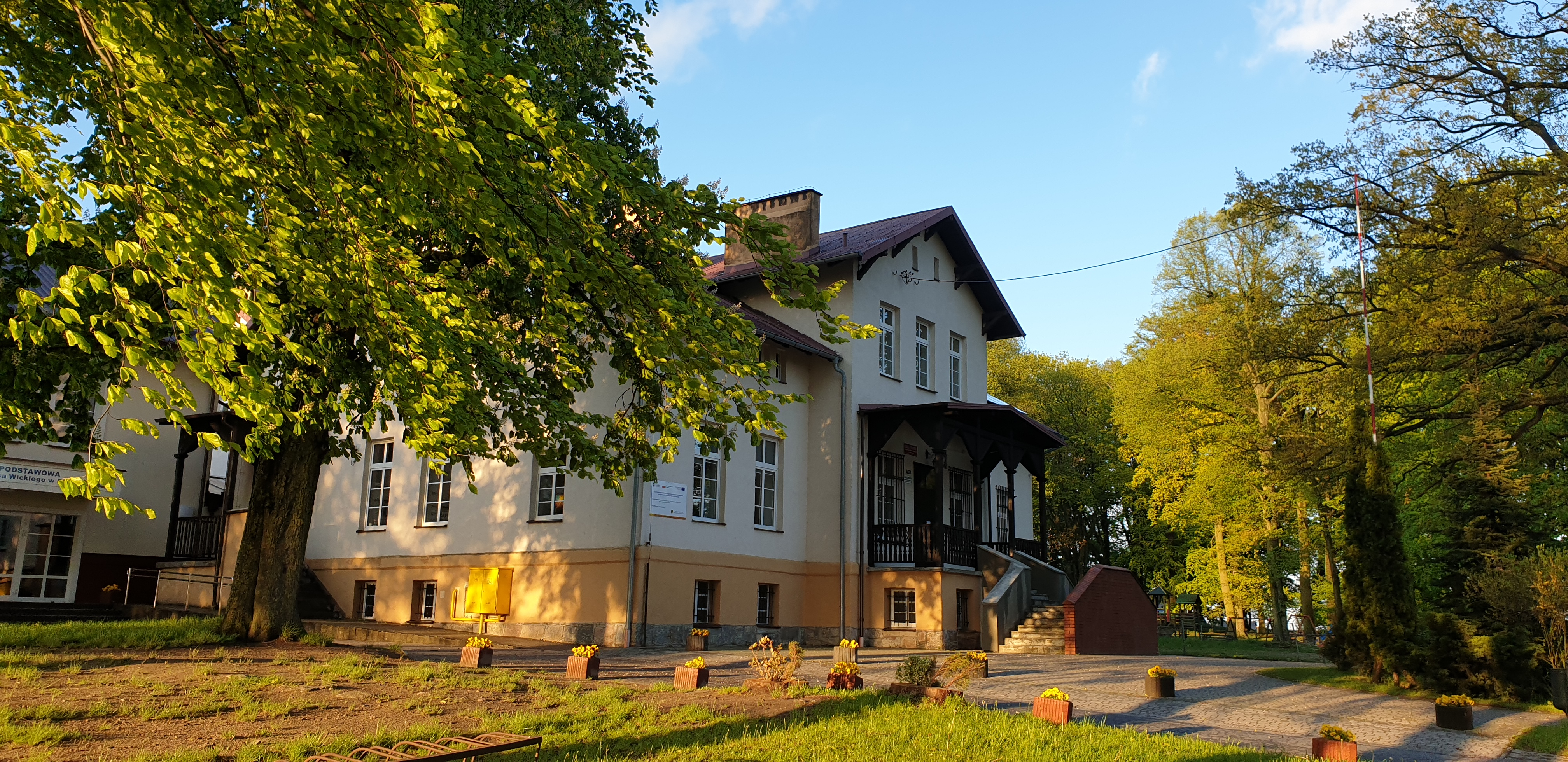 Szkoła w Pępowie